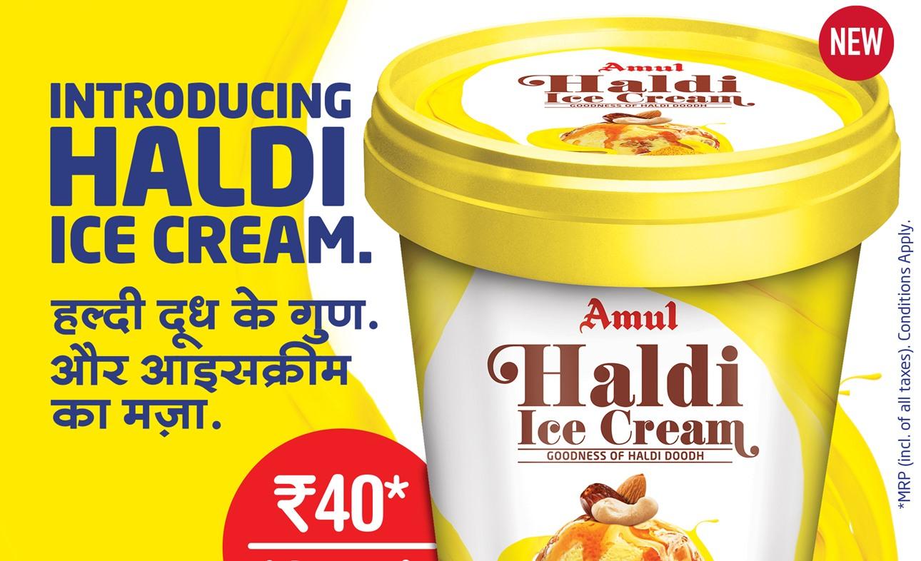 "Amul Adds Haldi Ice Cream To ""Immunity Booster"" Range"