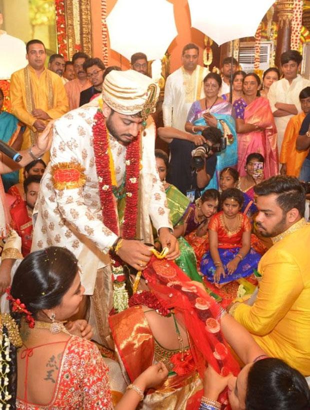 AP Minister Bhuma Akhila Priya Wedding Photos   AP Minister Bhuma