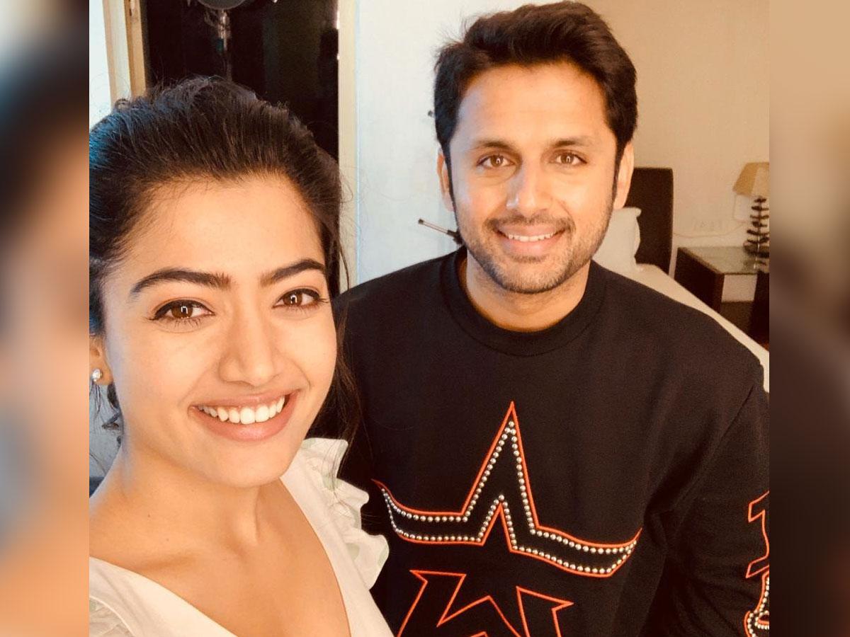Nithiin Rashmika Starts Promotions For Bheeshma Tollywood