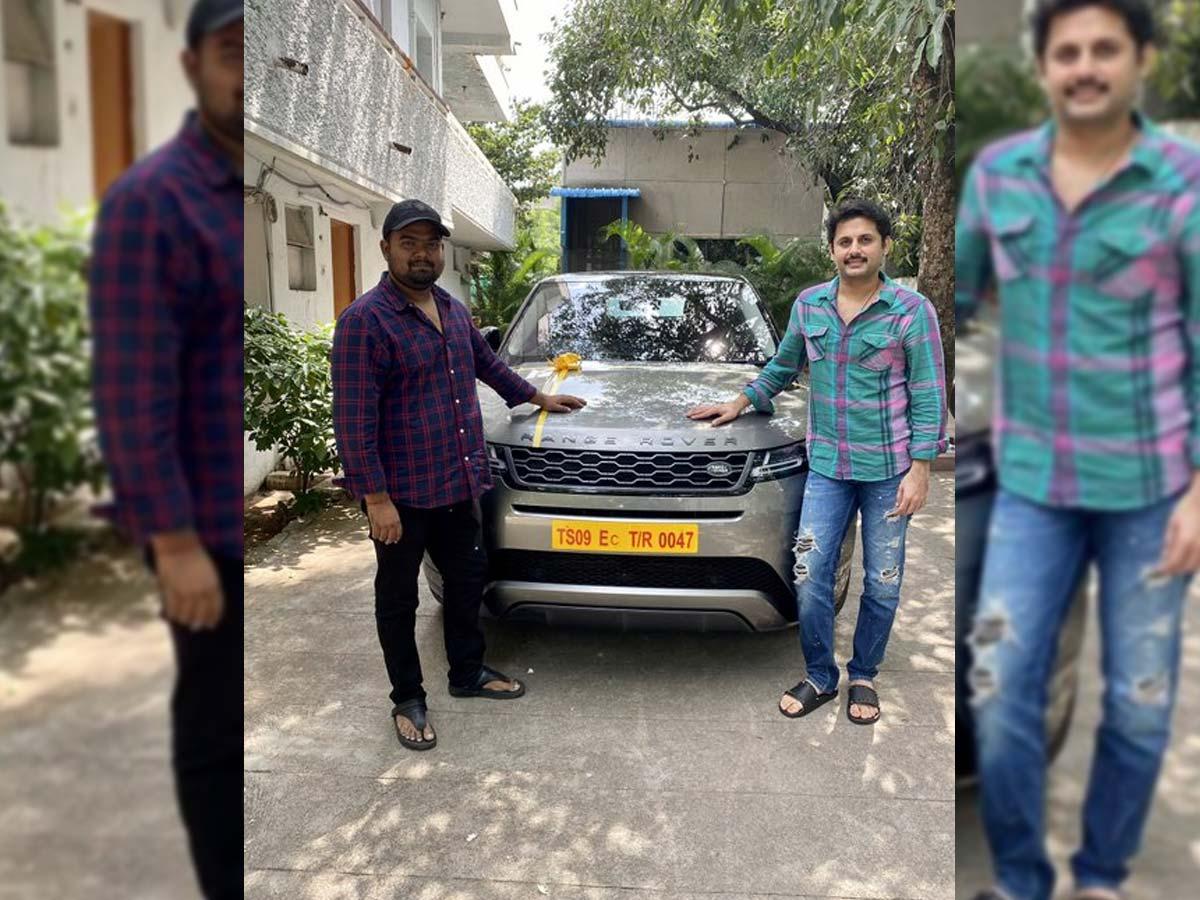 Nithiin Gifted Range Rover Car To Bheeshma Director Tollywood