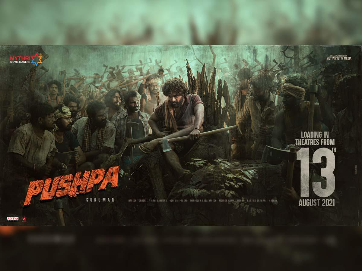Official: Allu Arjun Pushpa release date - tollywood