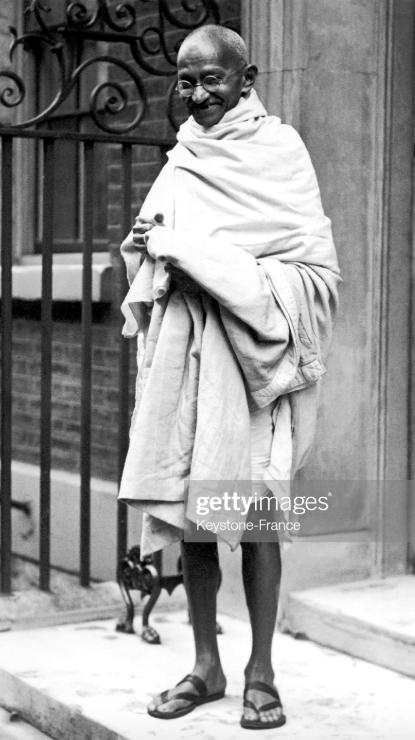 लंदन में महात्मा गांधी