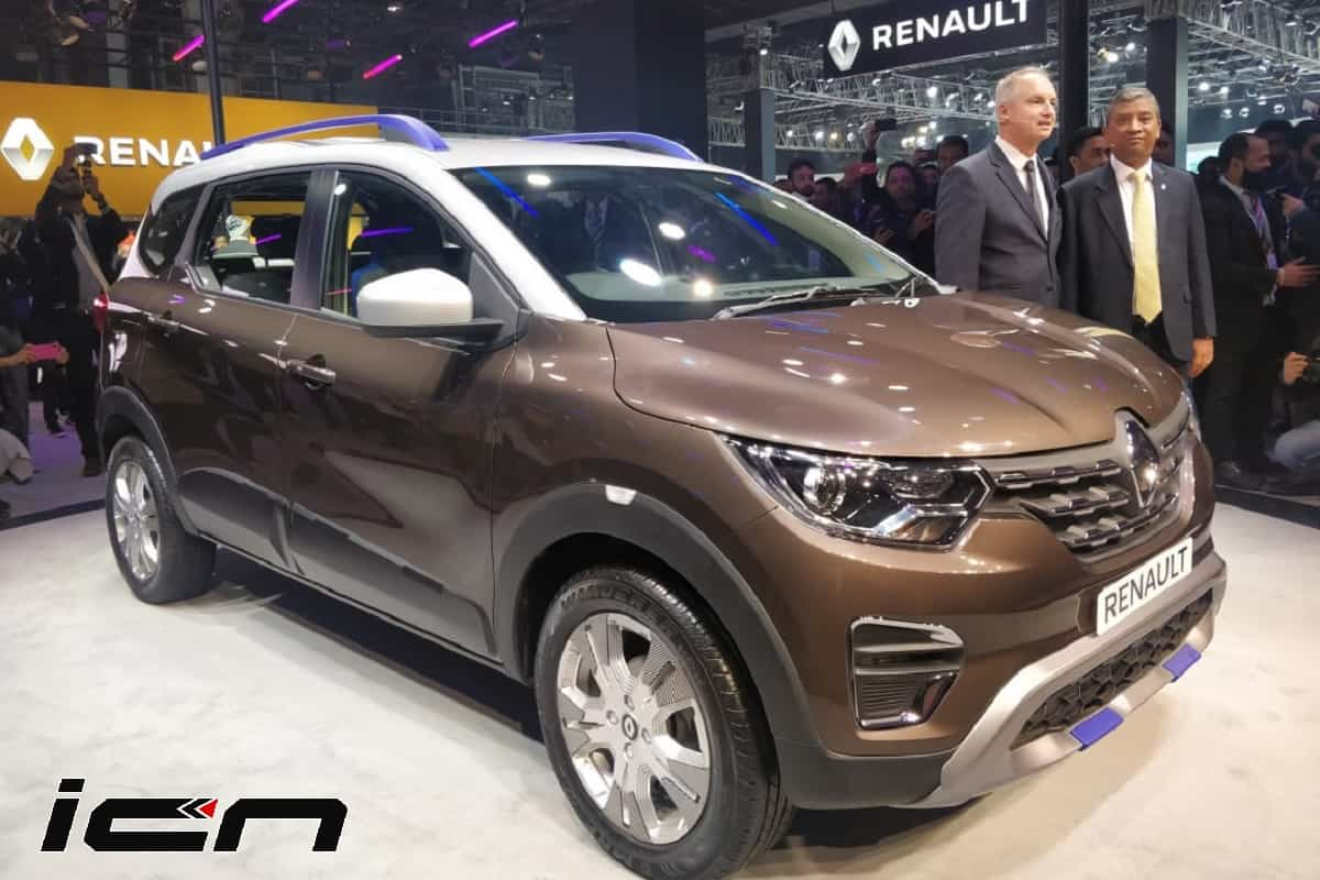 Renault Triber Amt Unveiled At The Auto Expo 2020