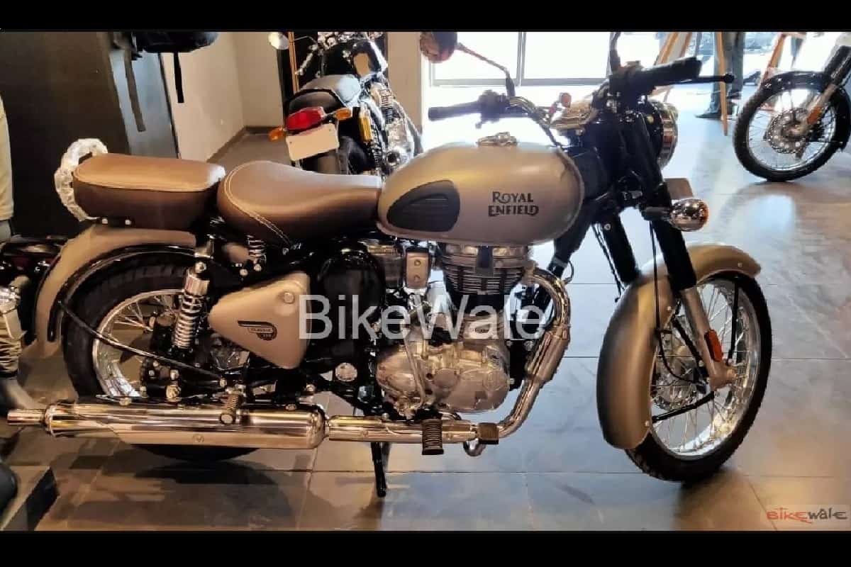 Bs6 Royal Enfield Classic Redditch Edition Arrives At Dealerships