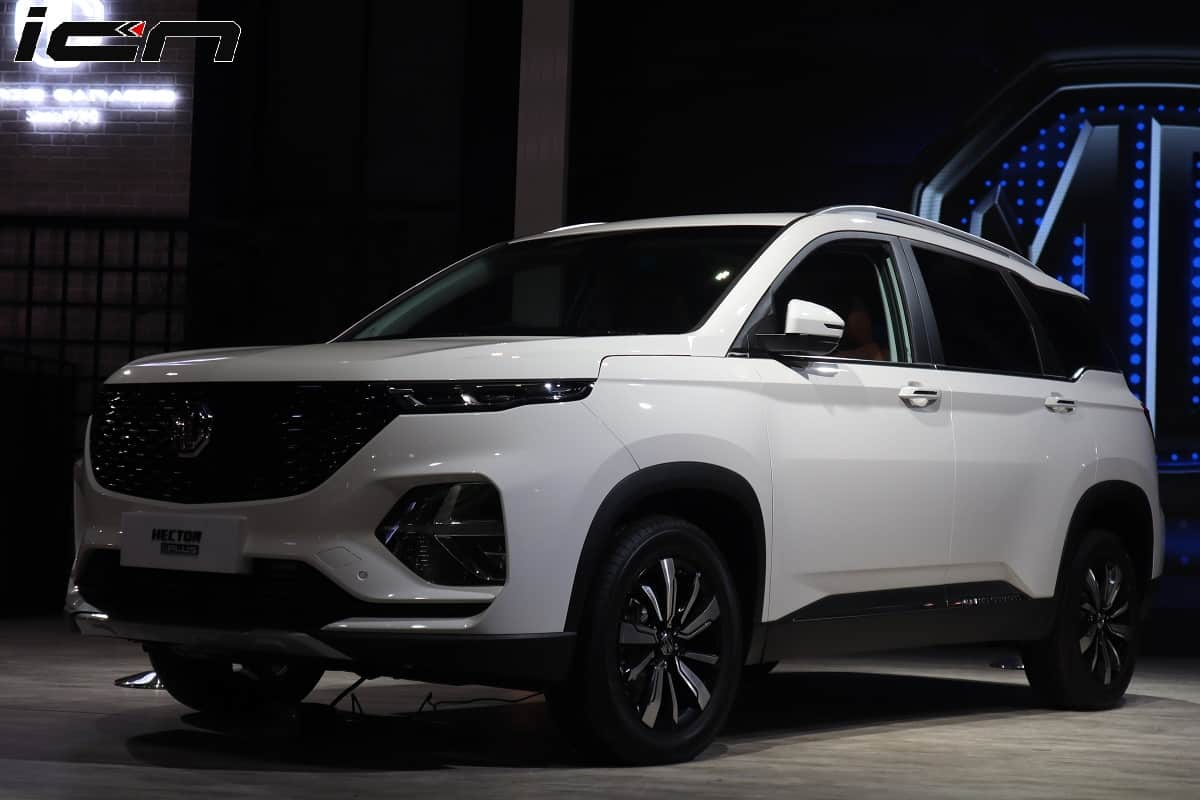 Mg Hector Plus 7 Seater Launch During Diwali To Rival Tata Gravitas