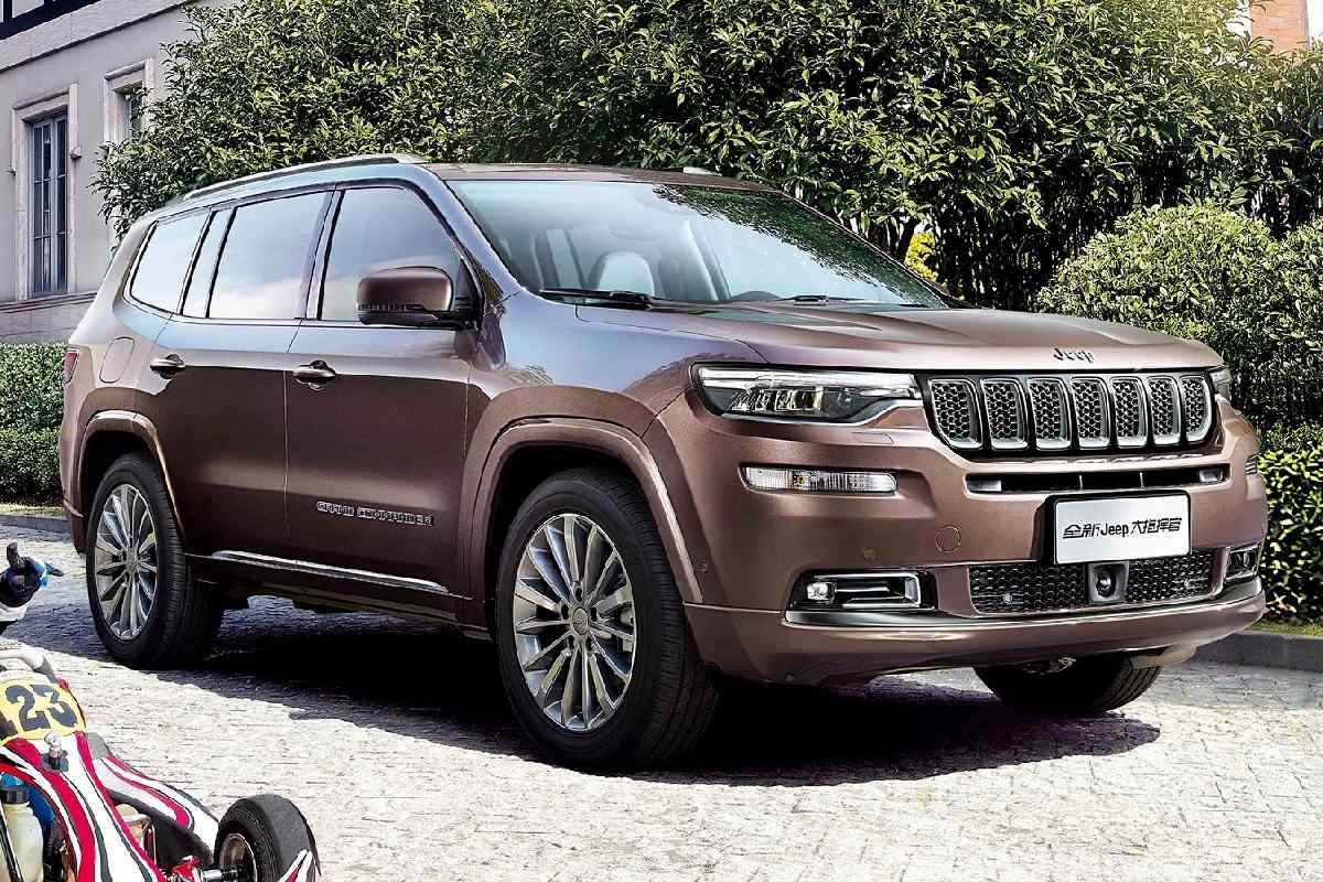 Jeep Grand Compass 7 Seater Suv Details Revealed