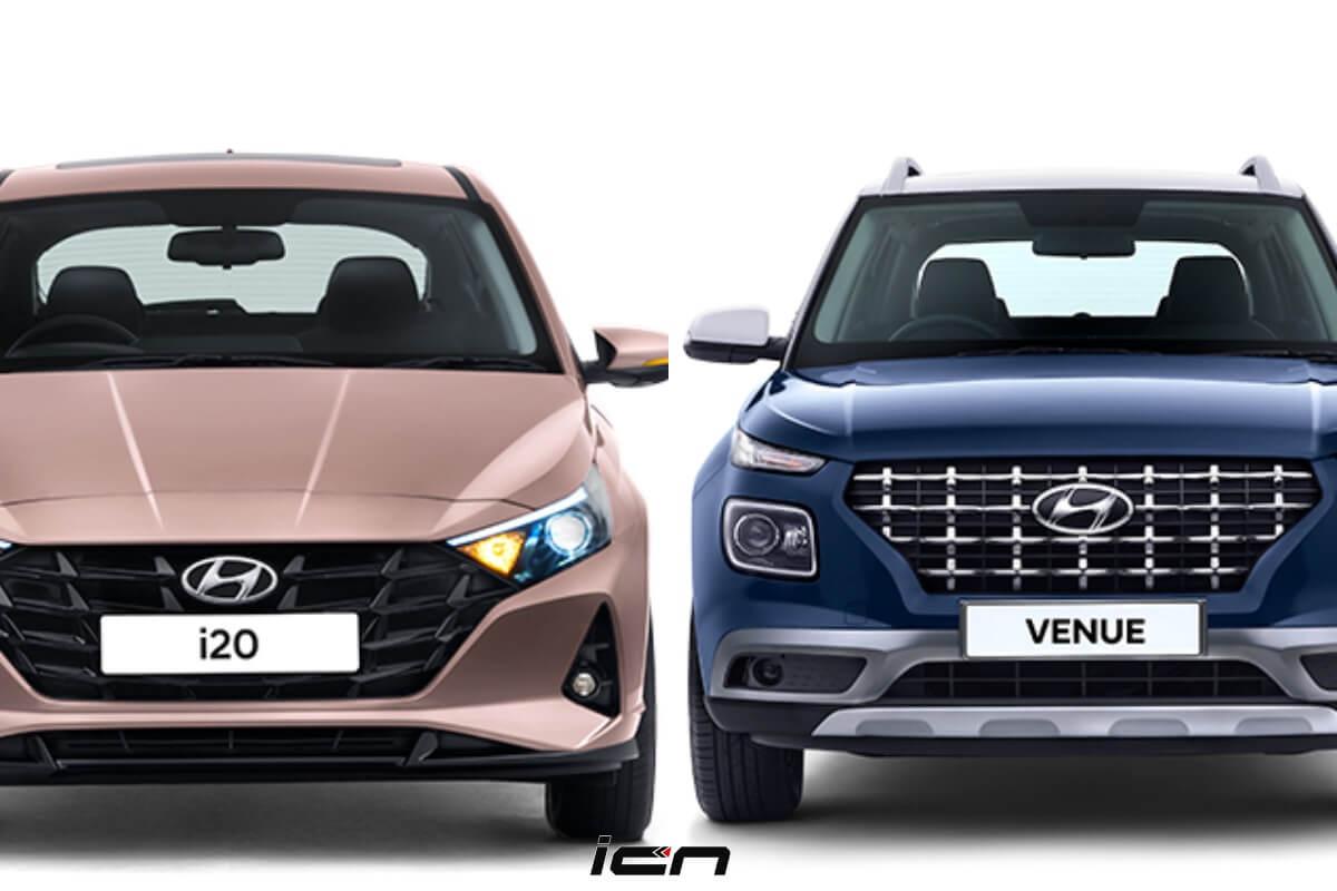 2020 Hyundai I20 Vs Venue Price More Sensible Choice