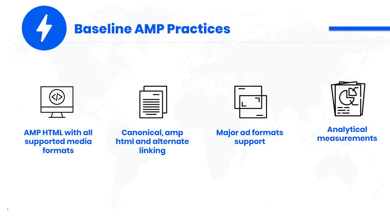 Baseline AMP Practices
