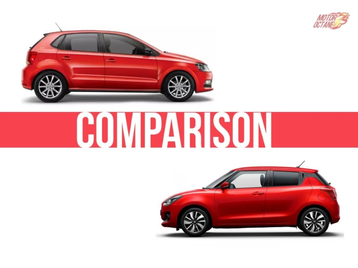 Volkswagen Polo Vs Maruti Swift Comparison