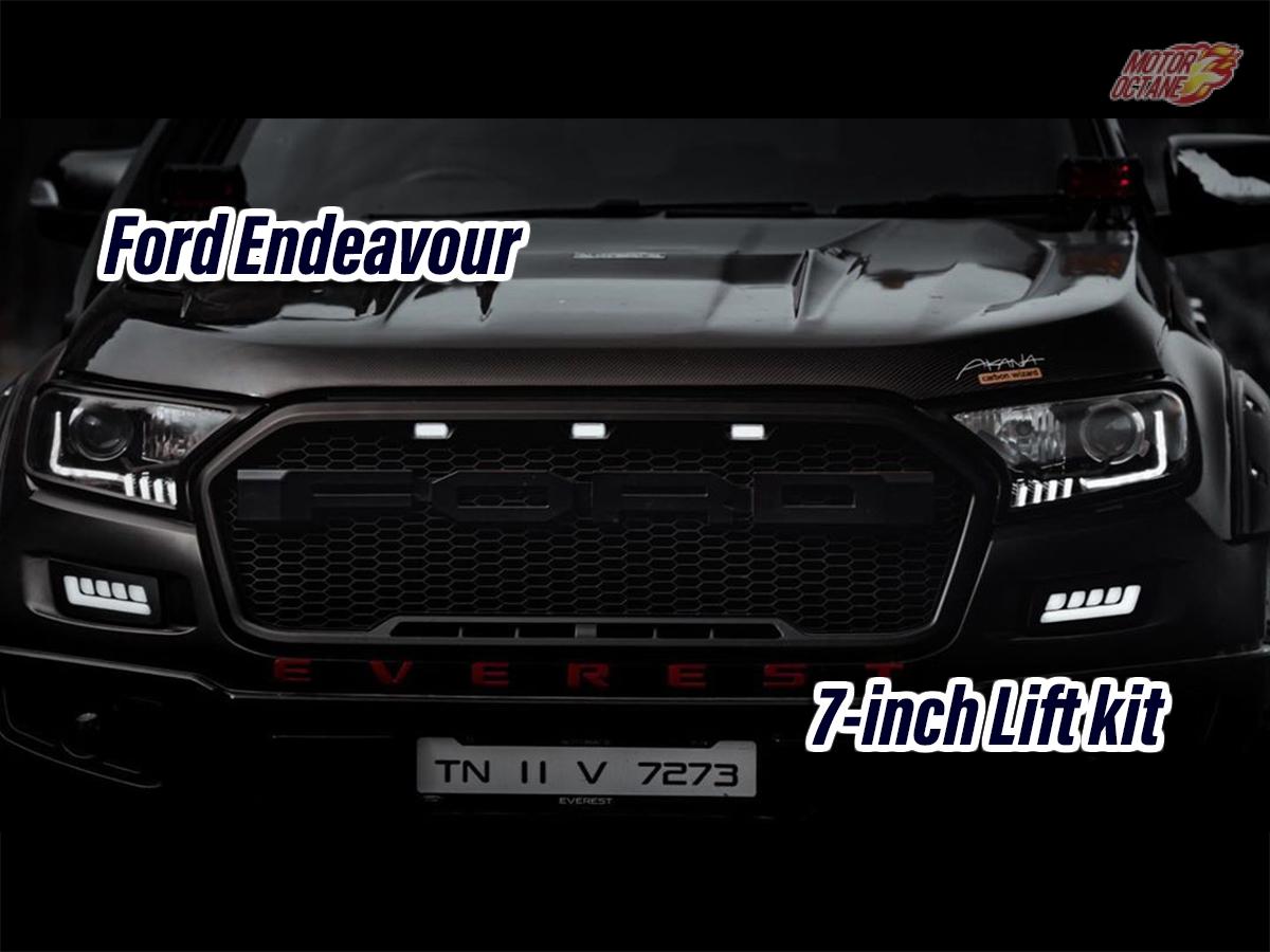 Ford Endeavour Black Devil Modification