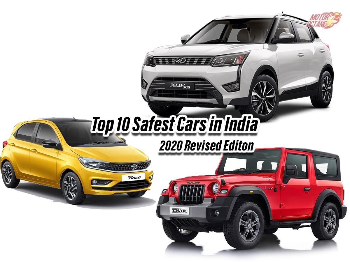 Top 10 Safest Cars In India November 2020