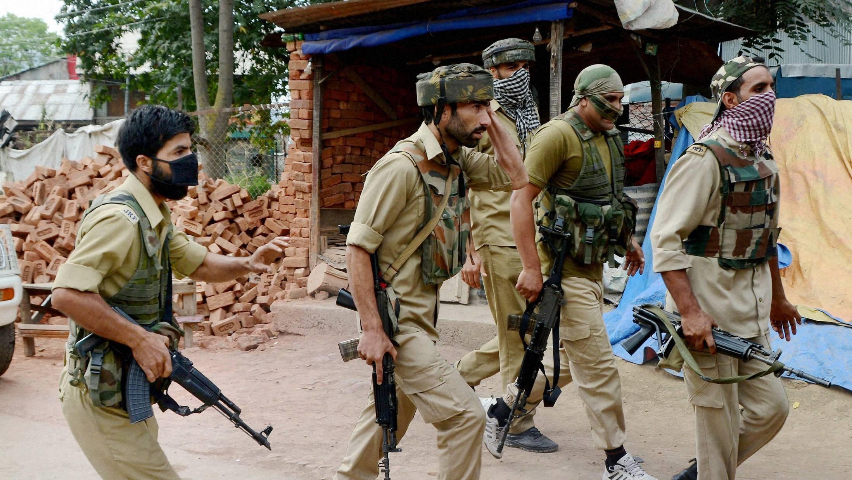 Image result for kashmir police