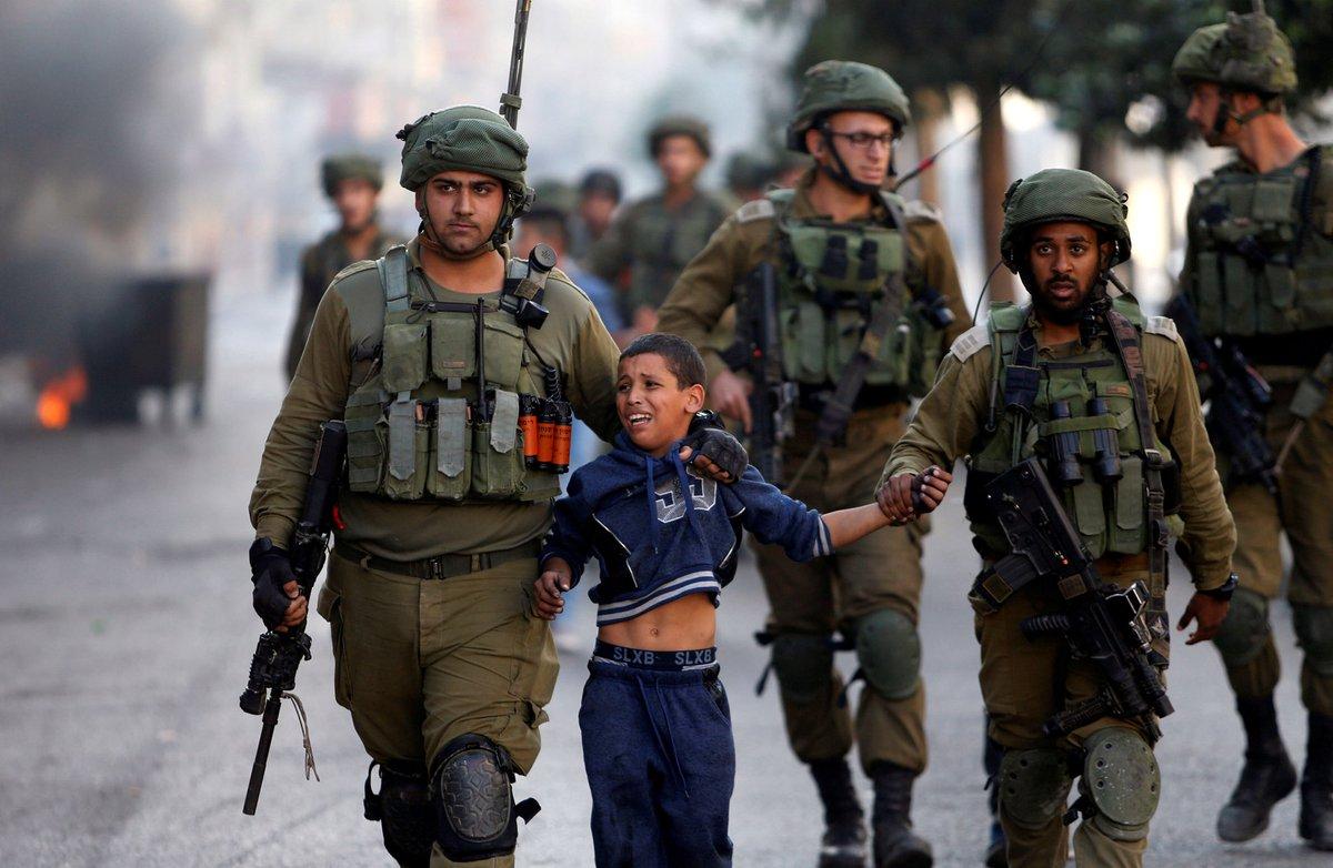 In Occupied Palestine, Children Come in the Line of Fire