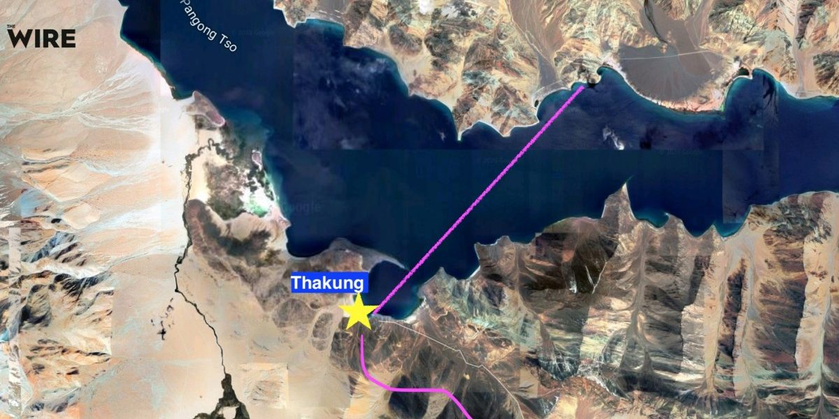 Image result for ladakh conflict map images
