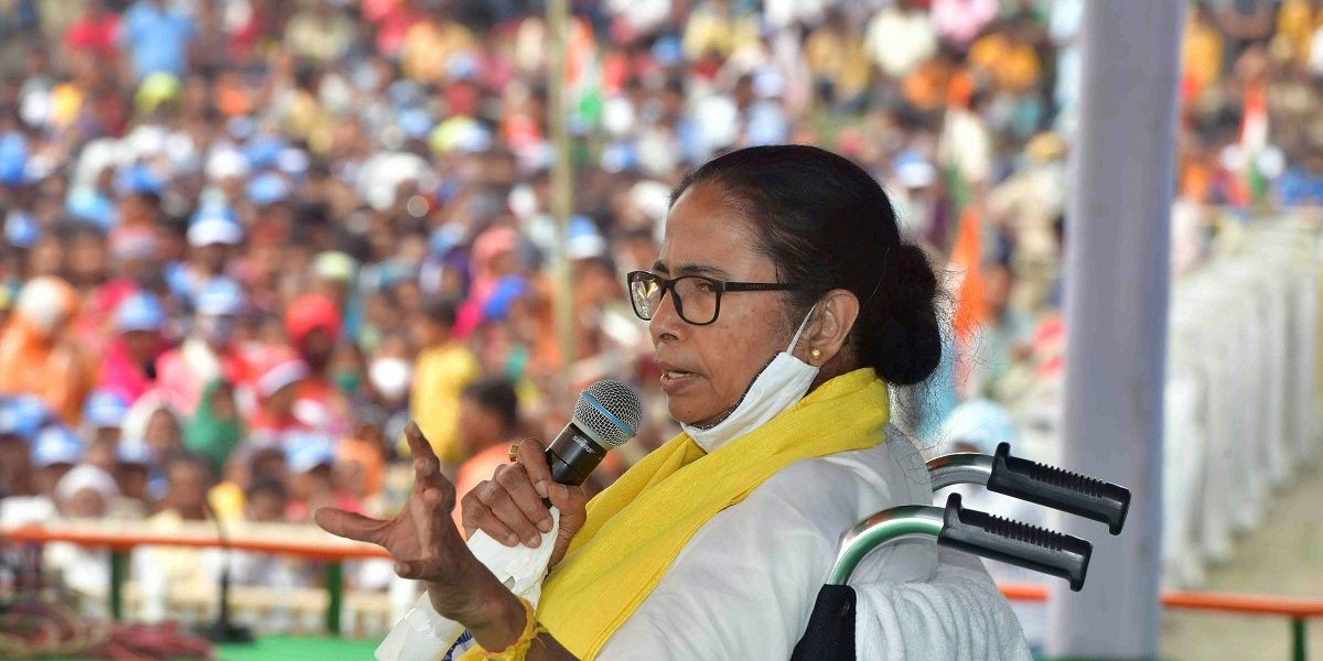 Election Commission Bans Mamata Banerjee From Campaigning for 24 Hours