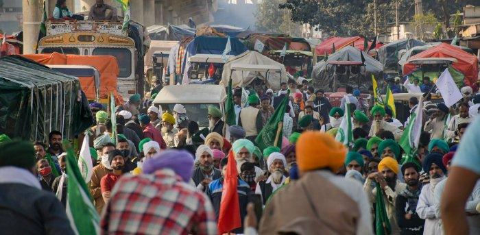 Ten Months Since Farmers  Protests Began, Haryana Govt Announces  Alternative Routes  to Delhi
